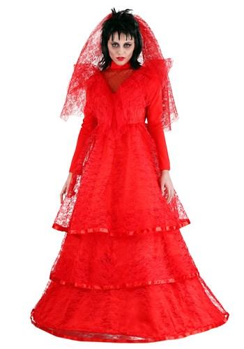 Vestido de novia gótico rojo talla extra 1