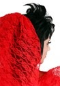 Vestido de novia gótico rojo talla extra