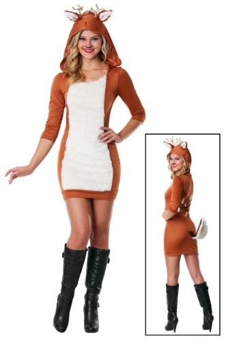 Disfraz de ciervo sexy talla extra