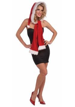 Capucha de Navidad con bufanda