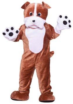 Disfraz de Mascota Bulldog talla extra