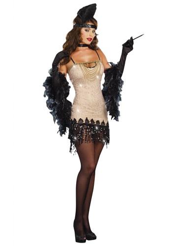 Disfraz de Flapper Jazzy Jezebell para mujer