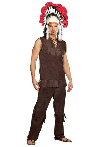 Disfraz de hombre Long Arrow Indian Costume