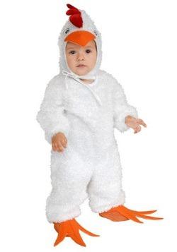 Disfraz de gallo blanco para niños