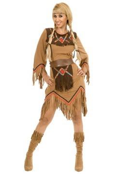 Disfraz de doncella india Sacajawea para mujer