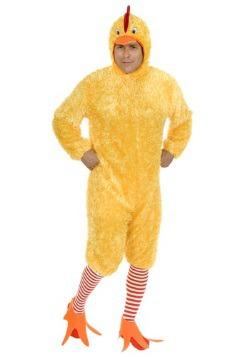 Disfraz de gallina funky talla extra