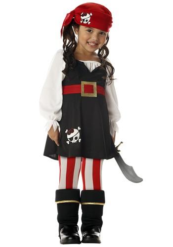 Disfraz de pirata para niñas pequeñas