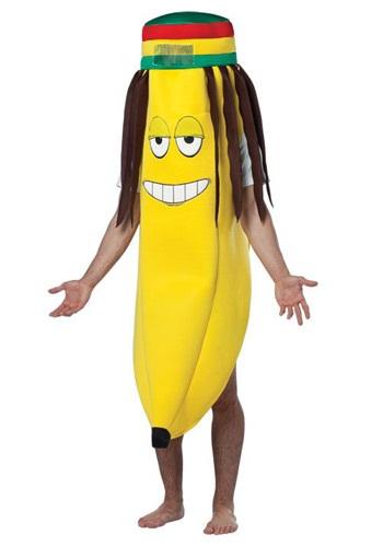 Disfraz de banana con rastas