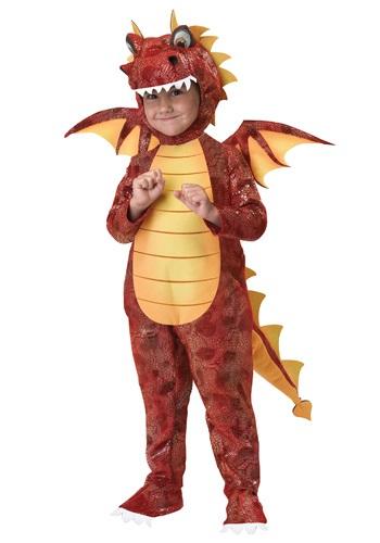 Disfraz de Dragón lanzafuego para niños pequeños
