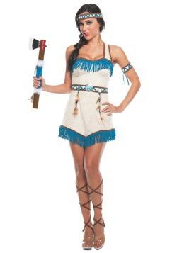 Disfraz de princesa nativa para mujer
