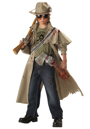 Disfraz infantil de cazador de zombies