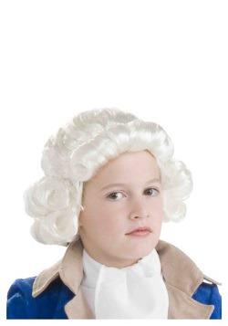 Peluca de chico colonial