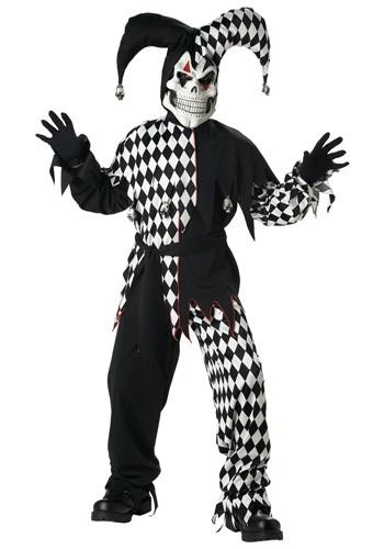 Disfraz bufón oscuro para niños