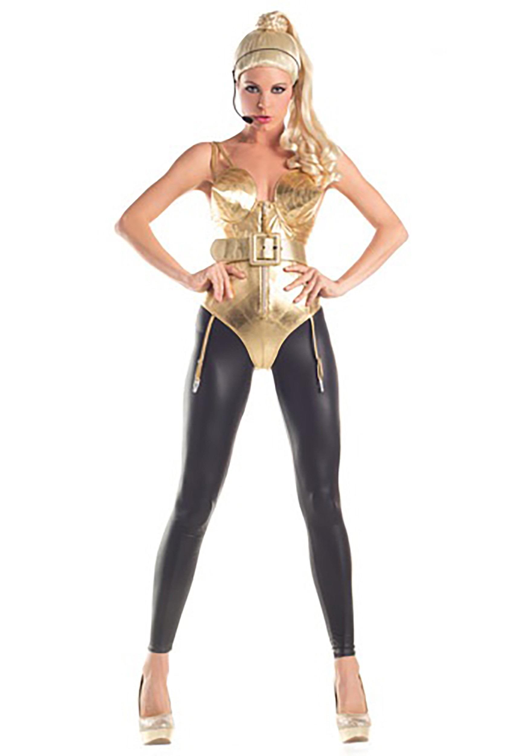 5e0ef9e5d Disfraz de Diva Pop de los años 80 para adulto