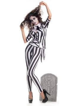 Disfraz de fantasma de cementerio para adulto
