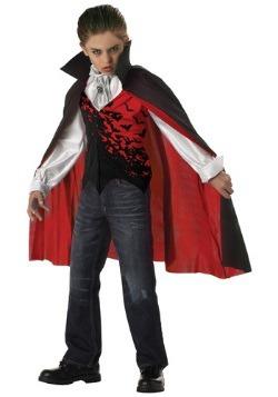 Disfraz de vampiro oscuro para niños