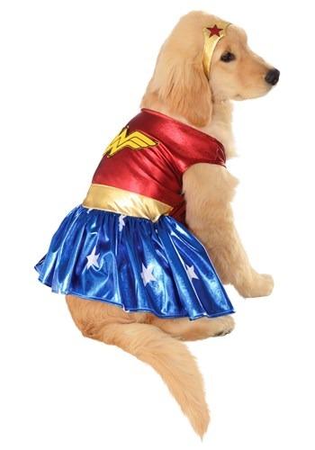 Disfraz de mascotas de Wonder Woman
