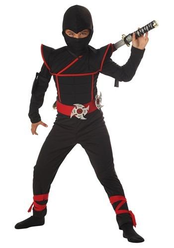 Disfraz de ninja sigiloso para niños