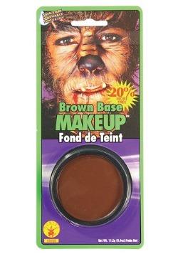 Pintura de cara marrón