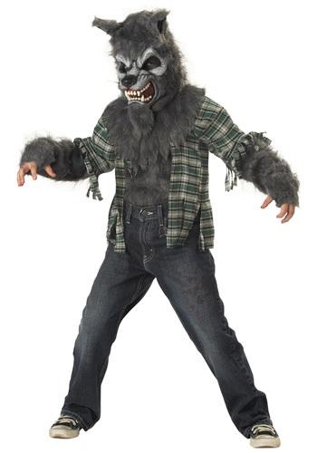 Disfraz infantil de hombre lobo