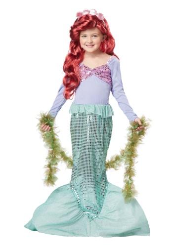 Disfraz de sirena para niños
