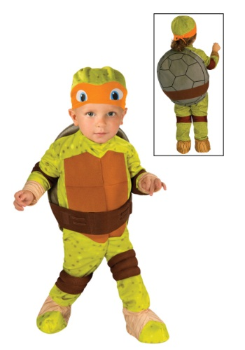 Disfraz de Miguel Ángel TMNT para niños pequeños