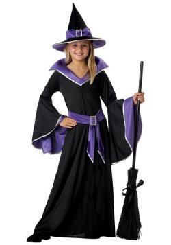 Disfraz de bruja infantil glamorosa