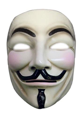 Máscara de lujo V de vendeta