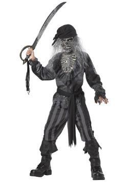 Disfraz de barco pirata fantasma para niños
