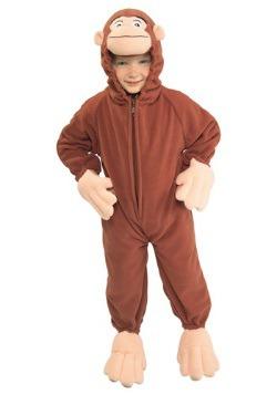 Disfraz de Jorge el curioso para niños pequeños