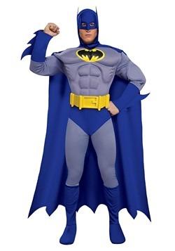Disfraz con pecho musculoso de Batman de lujo