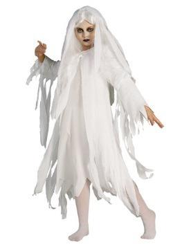 Disfraz infantil de espíritu fantasmal