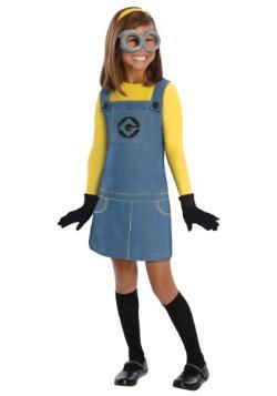 Disfraz de minions para niñas