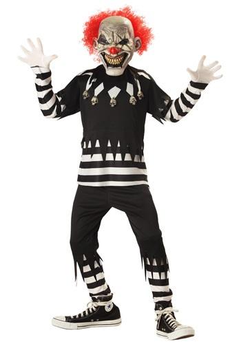 Disfraz de payaso psicópata para niños