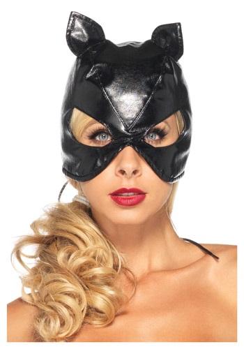 Máscara de encaje de gato