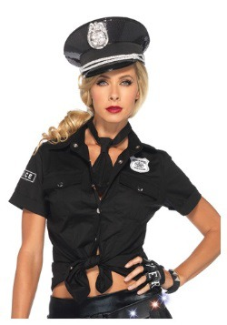 Camisa y corbata policial para mujer