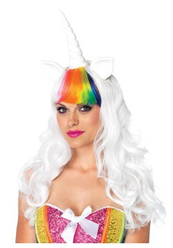 Peluca y cola de unicornio