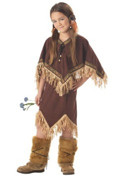 Disfraz de princesa india para niño