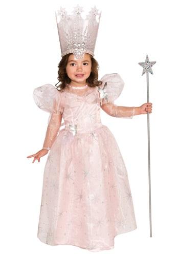 Disfraz de Glinda la bruja buena para niños pequeños