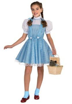 Disfraz infantil deluxe de Dorothy
