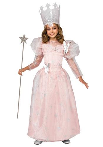 Disfraz de lujo de Glinda, la bruja buena para niños