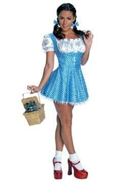 Disfraz de lentejuelas de Dorothy para adulto