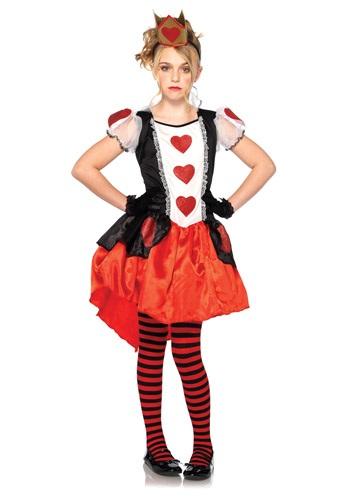 Disfraz infantil de la Reina de Wonderland
