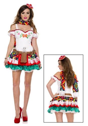 Disfraz de princesa tequila para mujer