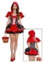 Disfraz de Fiery Lil Red para mujer