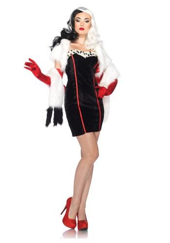 Disfraz de Disney Cruella para mujer