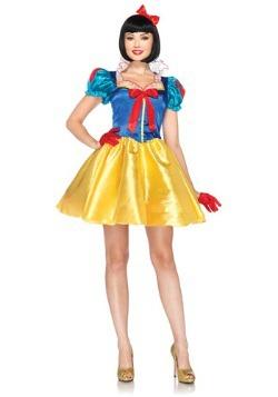 Disfraz de Blancanieves clásico de Disney para mujer