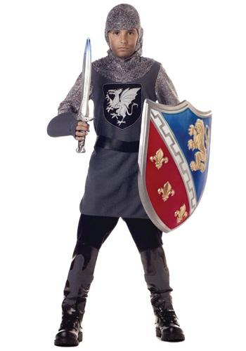 Disfraz de caballero valiente para niños