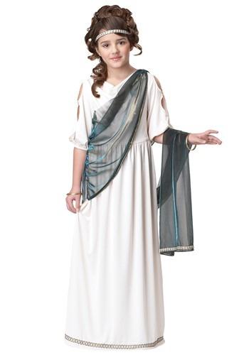 Disfraz de princesa romana para niñas