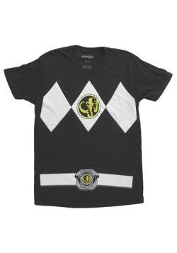 Camiseta de Power Ranger negro